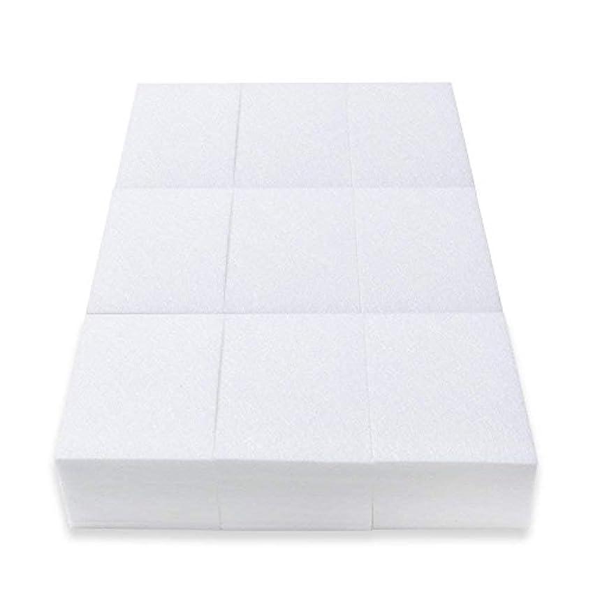 ファックス赤字傀儡ネイルワイプ コットン ネイルオフ不織布 ジェルネイルオフ 未硬化ジェルの拭き取り ジェルワイプ ネイル用 600枚入り