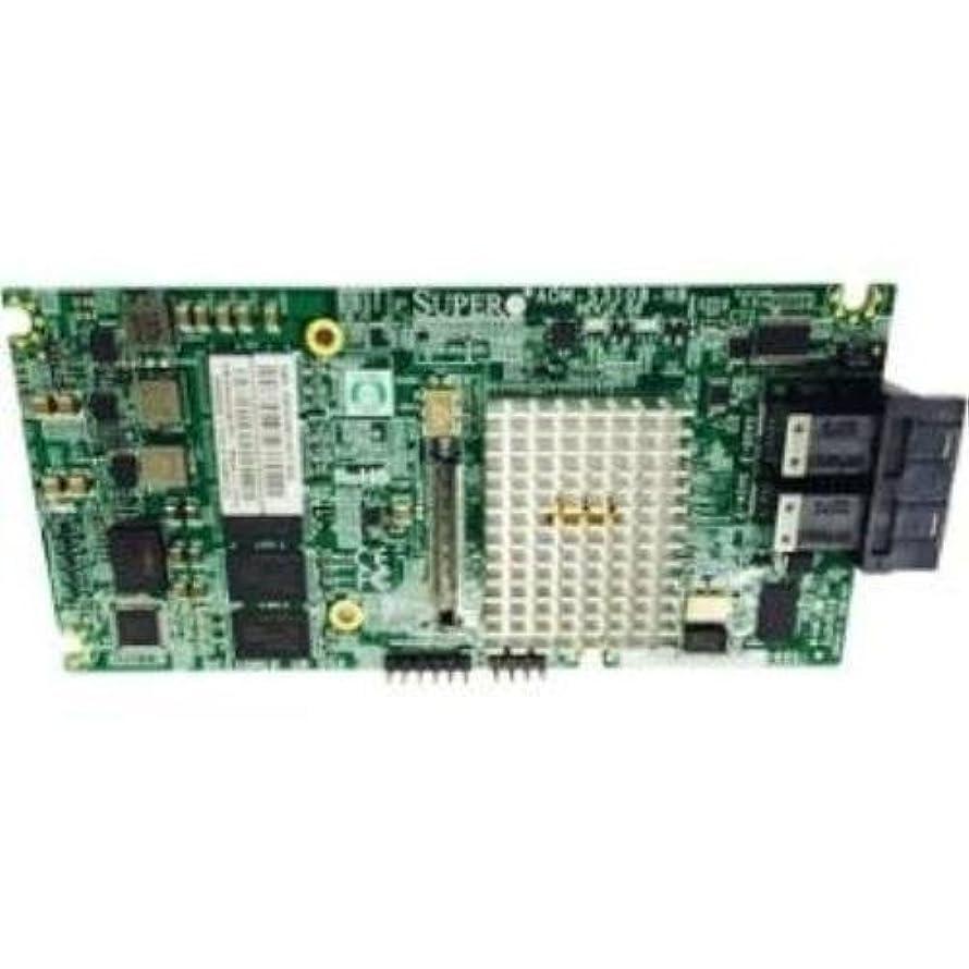 商標チャップドライバSupermicro AOM-S3108M-H8 - Storage controller (RAID) - 8 Channel - SAS 12Gb/s low profile - 1.2 GBps - RAID 0, 1, 5, 6, 10, 50, 60 - PCIe