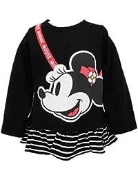 Disney ディズニー ミニーマウス 裾フリルTシャツ 子供服 ベビー服