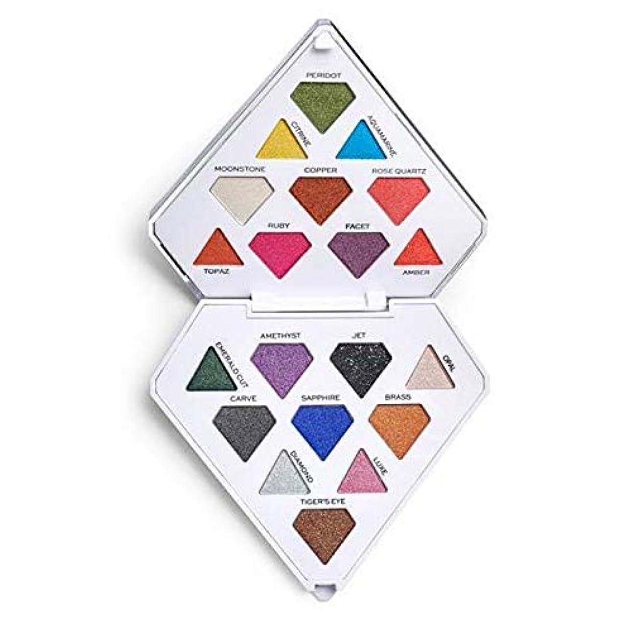 コールキロメートルコンペ[I Heart Revolution ] 私は心の革命ダイヤモンド明るいアイシャドウパレット - I Heart Revolution Diamond Bright Eyeshadow Palette [並行輸入品]