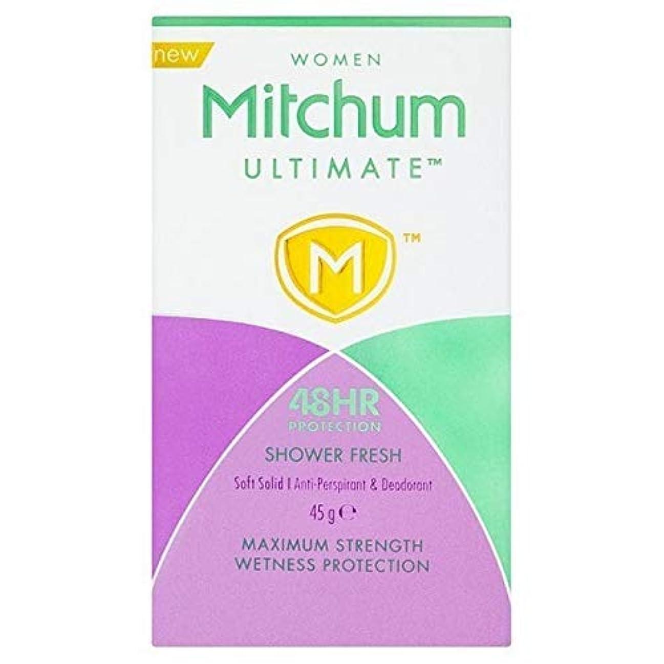 はがき逆さまにシェルター[Mitchum ] ミッチャム究極Showerfreshクリーム - Mitchum Ultimate Showerfresh Cream [並行輸入品]