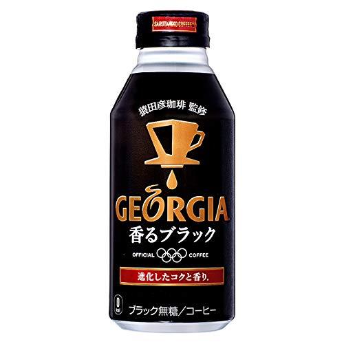 ジョージア ヨーロピアン 香るブラック 400ml×24本 缶