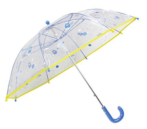 [해외]弘懋 TANPOPO 45cmPOE 어린이 우산 공간 흰색 파이핑 있습니다 (소년 용) 53364/Hiroshi TANPOPO 45 cm POE Child umbrella Space white Piping available (for boys) 53364