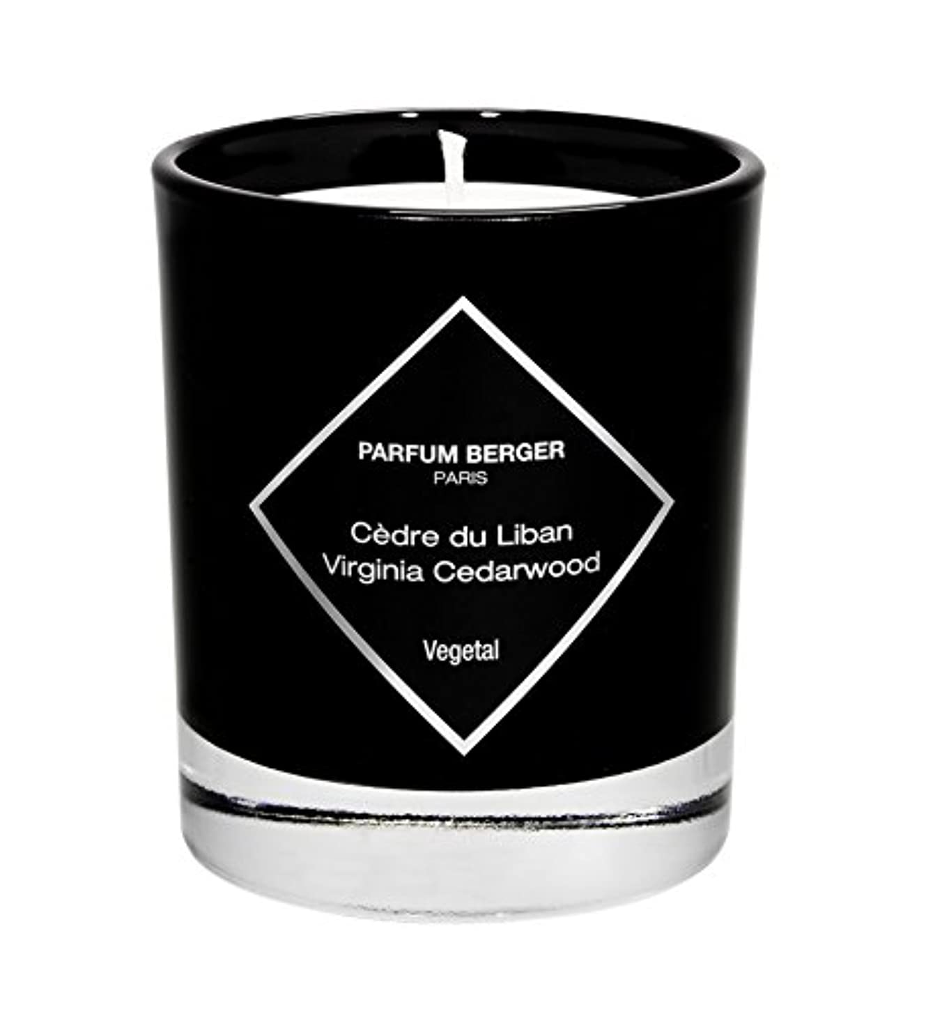再生的急勾配のわずらわしいParfum Berger/Lampe Berger 7.4 Oz Virginia Cedar Wood Scented Candle