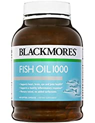 Health Supplement Blackmores 400 Caps Fish Oil 1000 Omega3 Dha, EPA Fatty Acids by Blackmores LTD
