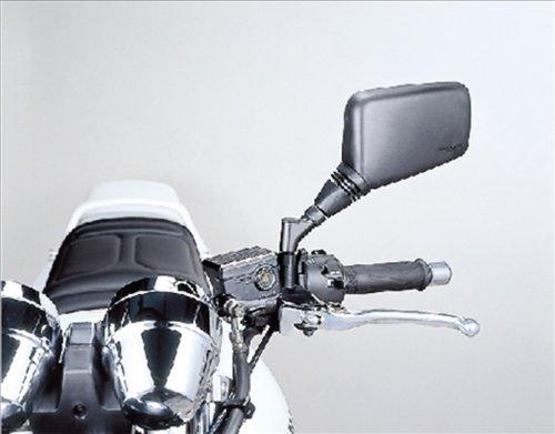タナックス 汎用バイクミラー ナポレオン クロス 2 ミラー ブラック 右側用 10mm 正ネジ AJ-10R
