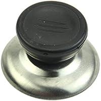 Dabixx 交換用 鍋つかみ キャップ ケトル 蓋 ボタン プラスチック ハンドル ノブ グリップ 2サイズ