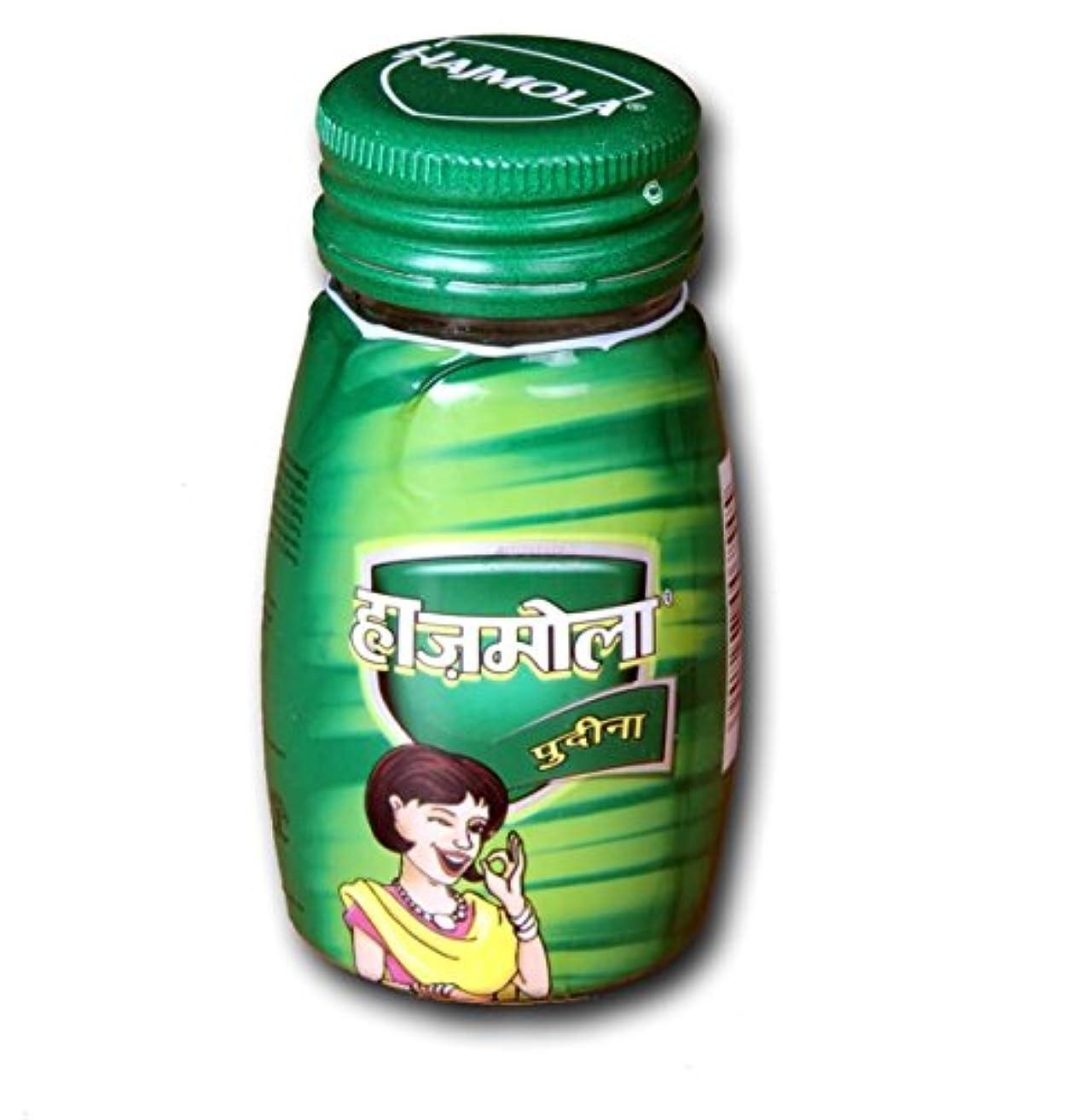 遠近法端それらDabur Hajmolaタブレット – 120 Tablets ( Pudina Flavour )