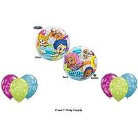 Bubble Guppies BirthdayパーティーBalloons Decorations Supplies新しい。By Qualatex