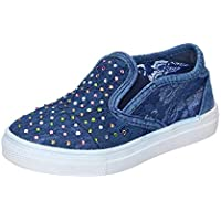 Asso Loafer Flats Baby-Girls Blue