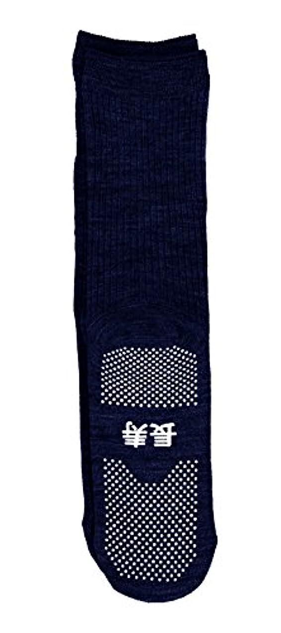 インフレーション切断する例示する神戸生絲 すべり止め靴下( 長寿