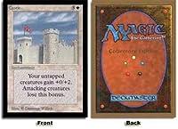 英語版 コレクターズ・エディション CED Castle 城壁 マジック・ザ・ギャザリング mtg