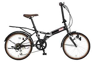 コールマン(Coleman) コールマン折りたたみ自転車 20インチ YOUTH 外装6段変速 ブラック 3323 ブラック 20インチ