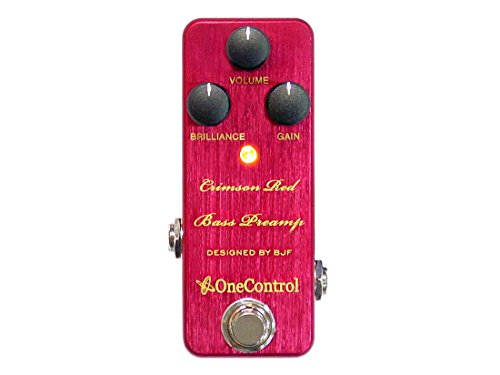 One Control ワンコントロール エフェクター ベース用 プリアンプ Crimson Red Bass Preamp