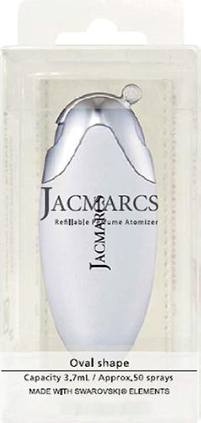 ペンフレンド変装した壮大メイクアップ ジャックマルクス パフューム アトマイザー オーバルシェイプ ホワイト 22 5.2mL 4517989165225