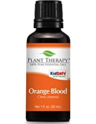 Plant Therapy Blood Orange Essential Oil. 100% Pure, Undiluted, Therapeutic Grade. 30 ml (1 oz).