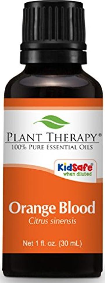 不名誉な手首イタリックPlant Therapy Blood Orange Essential Oil. 100% Pure, Undiluted, Therapeutic Grade. 30 ml (1 oz).