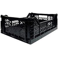 (エーワイカーサ) AY-KASA かご ボックス MULTI WAY MIDI BOX マルチウェイ ミディ ボックス BLACK ayks-002-BLACK