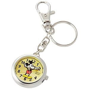 [ディズニー]Disney 懐中時計 キーチェーン ミッキーマウス MKN007-1 【並行輸入品】