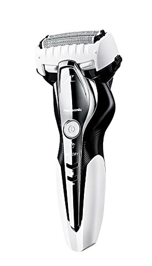 ギネス改修ディレクターパナソニック ラムダッシュ メンズシェーバー 3枚刃 お風呂剃り可 白 ES-ST2Q-W