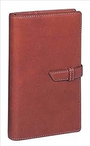 レイメイ藤井 システム手帳 ダヴィンチ オイルレザー 聖書 ブラウン DB123C