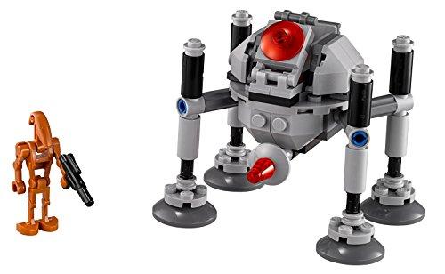 """レゴ スター・ウォーズ マイクロファイター""""ホーミング・スパイダー・ドロイド"""" 75077"""
