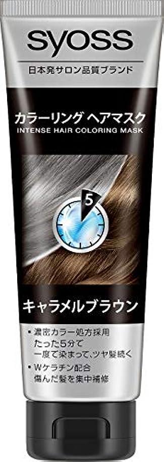 テレックス醸造所気まぐれなサイオス カラーリングヘアマスク キャラメルブラウン