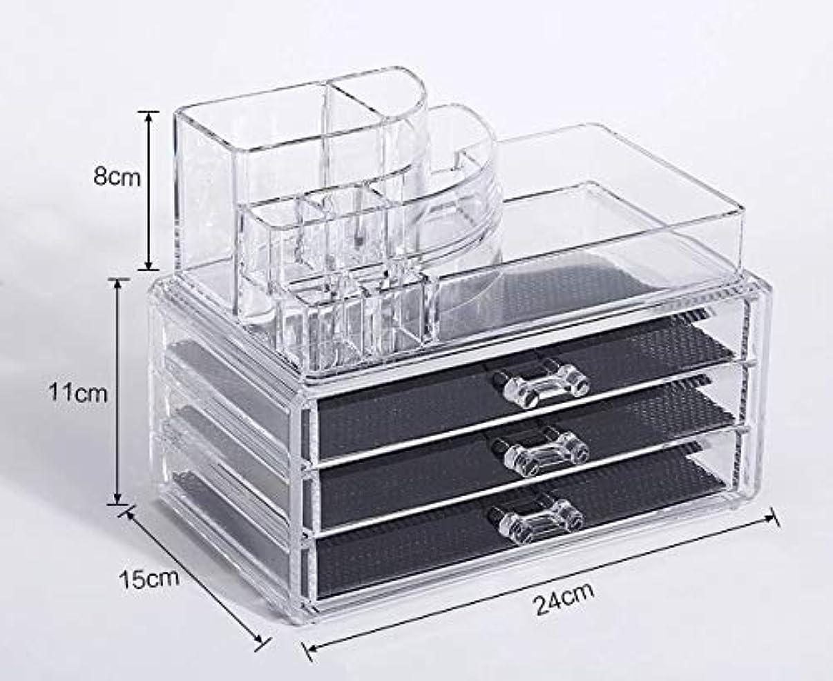 対人ほとんどない医療の化粧品収納ボックス メイクボックス 化粧品 収納 ニオイなし 騒音なし 防塵 高透明度 強い耐久性