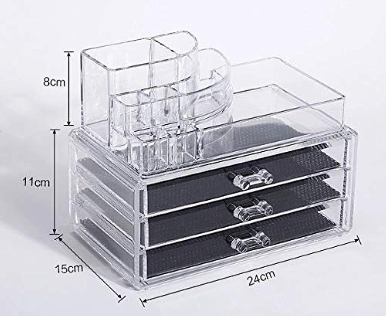 ギャロップうぬぼれ弾薬化粧品収納ボックス メイクボックス 化粧品 収納 ニオイなし 騒音なし 防塵 高透明度 強い耐久性