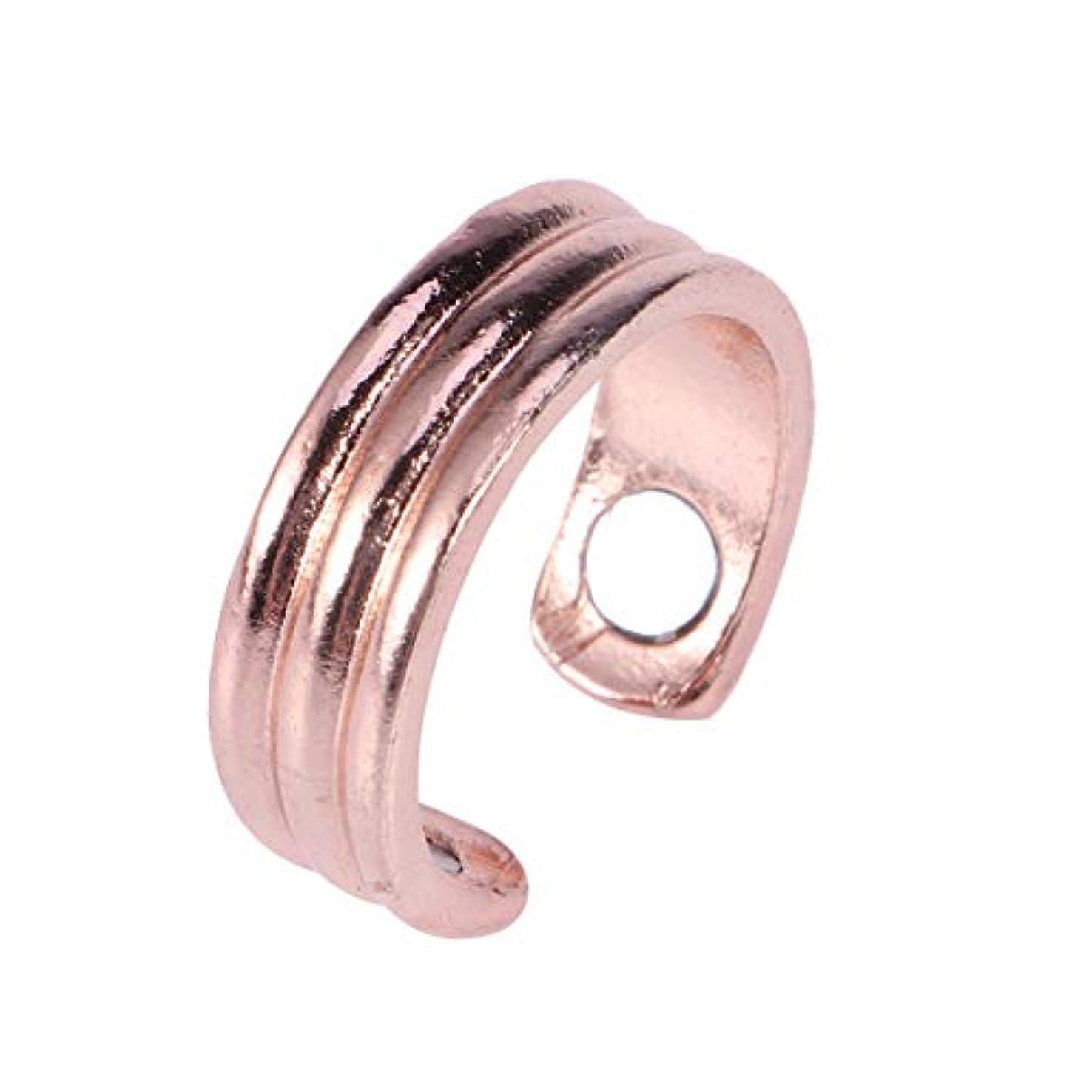 代替離す集めるSUPVOX 磁気リング療法指圧抗いびきリング息切れ治療指圧治療ヘルスケア関節炎