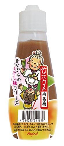 昔ながらの 白干し梅 無添加 ねり梅 (チューブ) 竹元ウメ 120g