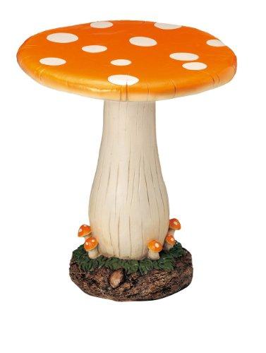 キノコのガーデンテーブル オレンジ 3017-OR