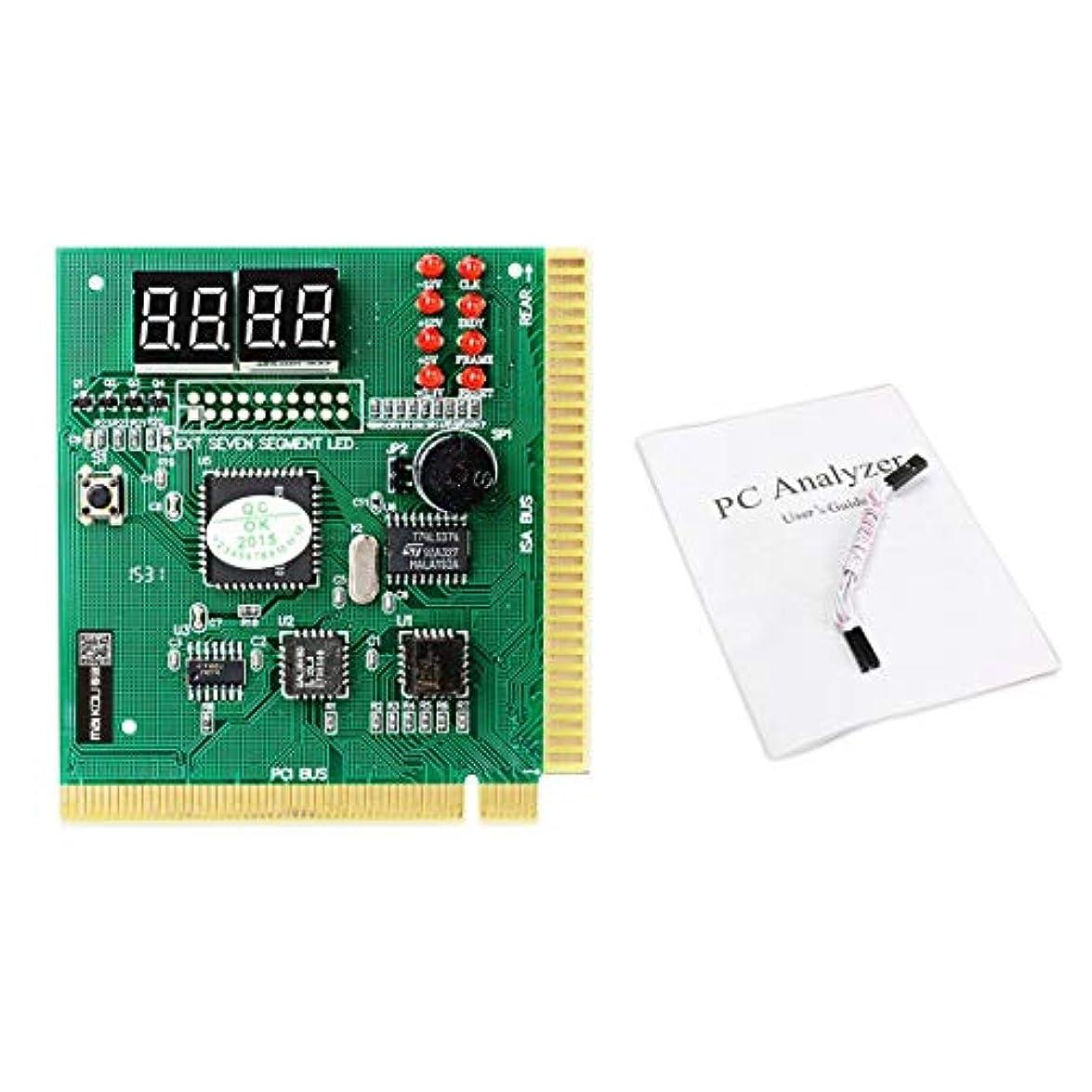 キャンセル時間モジュールBlackfell Maikou 4 Digit Mainboard PCI PC Computer Motherboard Diagnostic Analyzer Card Post Tester for Desktop PC