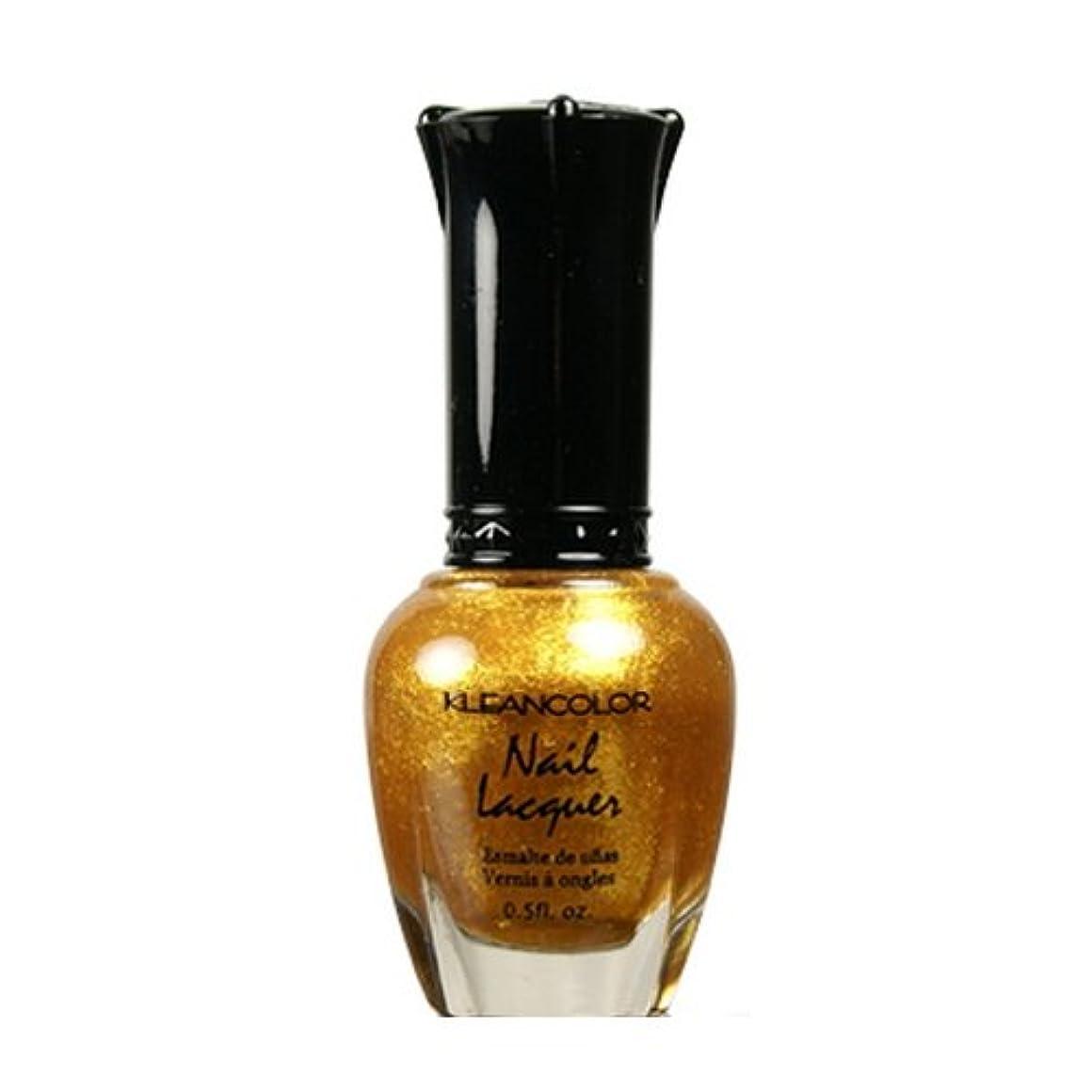 シーケンス一元化するカポックKLEANCOLOR Nail Lacquer 4 - Top of the World (並行輸入品)
