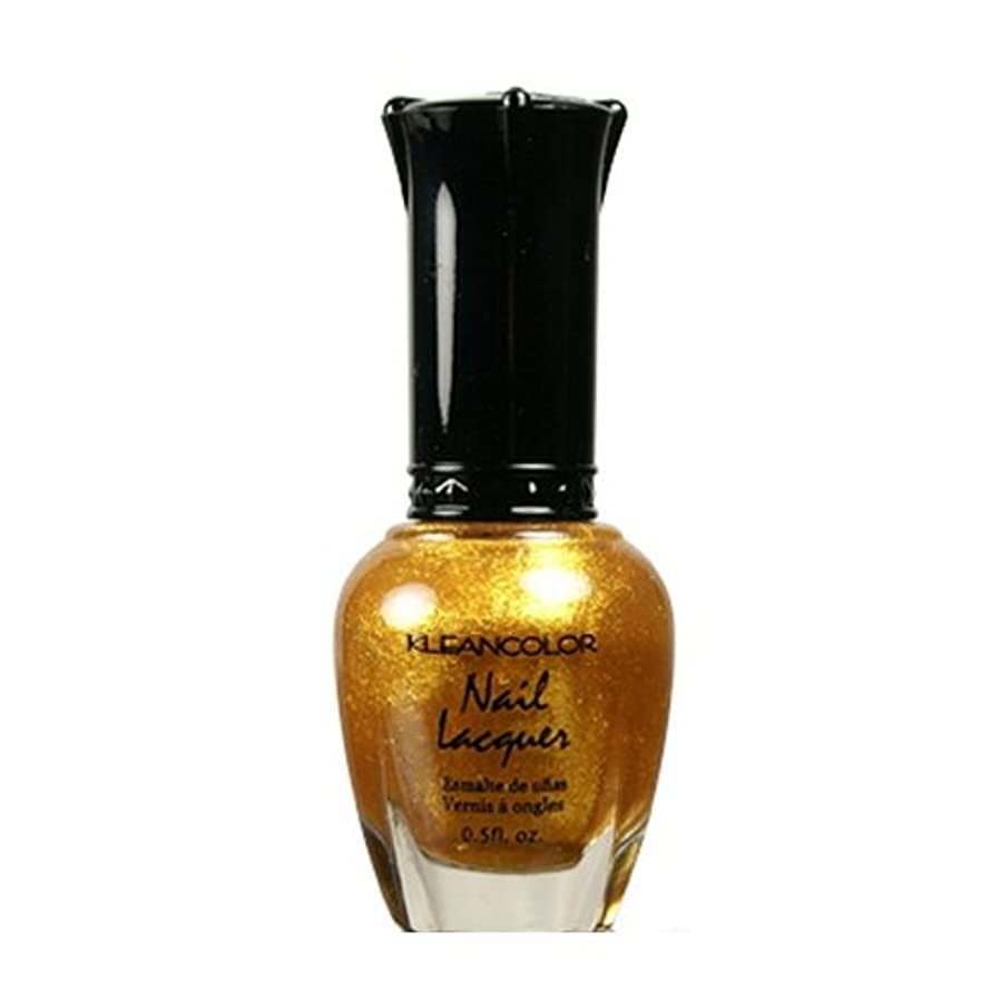 (6 Pack) KLEANCOLOR Nail Lacquer 4 - Top of the World (並行輸入品)