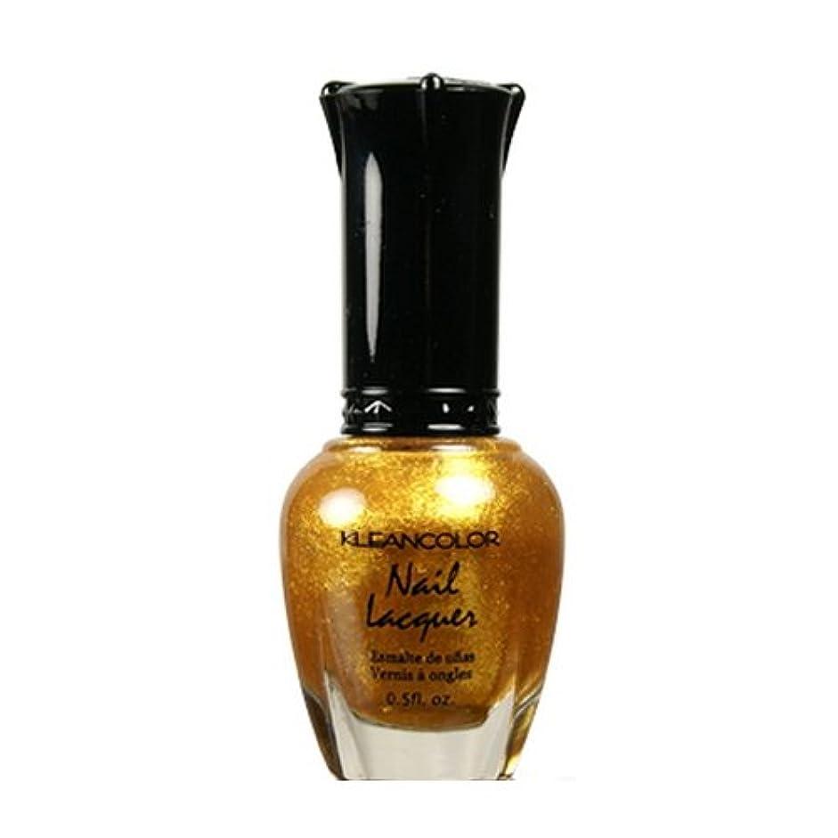 ショートカットとげコミュニケーション(3 Pack) KLEANCOLOR Nail Lacquer 4 - Top of the World (並行輸入品)