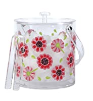 Lolita by CR Gibson Insulated Acrylic Ice Bucket, Ooops-A-Daisy by C.R. Gibson