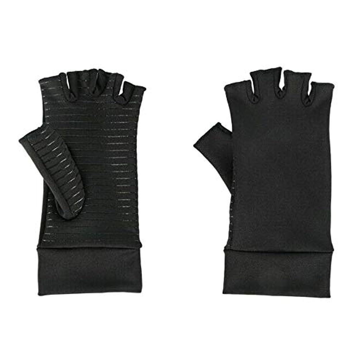 カウンターパートワインACAMPTAR 圧縮手袋、関節炎、手根管、手首の装具、サポート、S