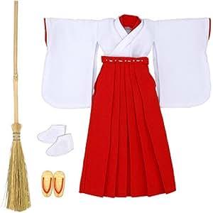 25巫女服 白×赤