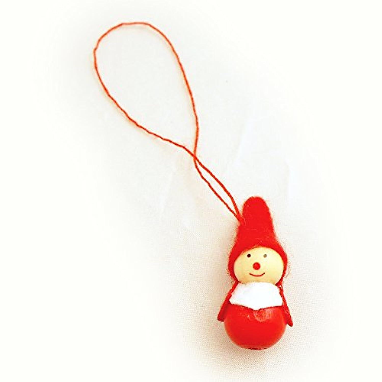 Kimmerle(キマール社) クリスマス 木製オーナメント サンタミニ 3cm【700-3】