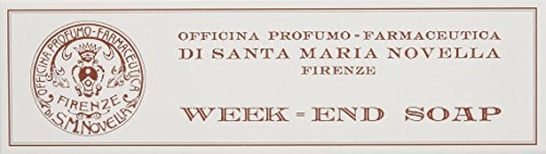 蜂注釈印をつけるサンタ・マリア・ノヴェッラ ウィークエンド ソープ 3x50g [並行輸入品]