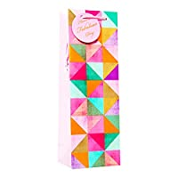 (サイモン・エルヴィン) Simon Elvin プレゼント ワインボトル用 ギフトバッグ 紙袋 6枚セット (ワンサイズ) (マルチカラー)