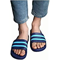 OneChange Male and Female Couple Slippers, Bedroom Slippers Non-Slip Soft Bottom Bathroom (Color : 23, Size : 41-42EU)