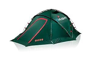 世界の冒険家に認められた高機能テント Fighter 3人用 テント 2人用 1人用 ドーム型 アウトドア用品 キャンプ用品 軽量 防水 紫外線防止 通気性 登山 災害用 防災用 (グリーン)