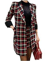 Nicellyer 女性スリムボタンはラペルブレザーとボディコンドレススーツセット