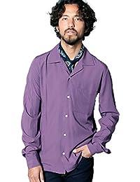 (マージン) Magine RAYON OPEN COLLAR SHIRTS L/S:レーヨン オープンカラーシャツ 1811-02