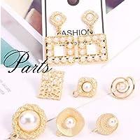 vnsh000490◆5000以上◆ピアスパーツ◆ピアス金具◆カン付き パール 真珠