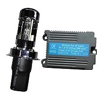YouCM Suzuki グース350 1992-1998 NK42A H4 Hi/Lo ワンピース 低電圧起動 HIDキット 6000K 1灯