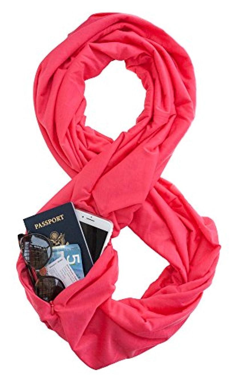 パーセントオーバーフロー写真WAYPOINT GOODS ACCESSORY レディース US サイズ: Infinity Scarf カラー: ピンク