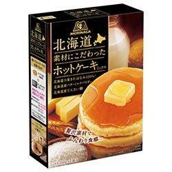 森永製菓 北海道素材にこだわったホットケーキミックス 300g(150g×2袋)×20(5×4)箱入